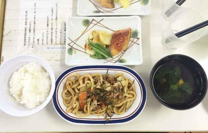 元美さんの愛情レシピの一例。試合前は炭水化物を多めに出すようにしている(提供写真)