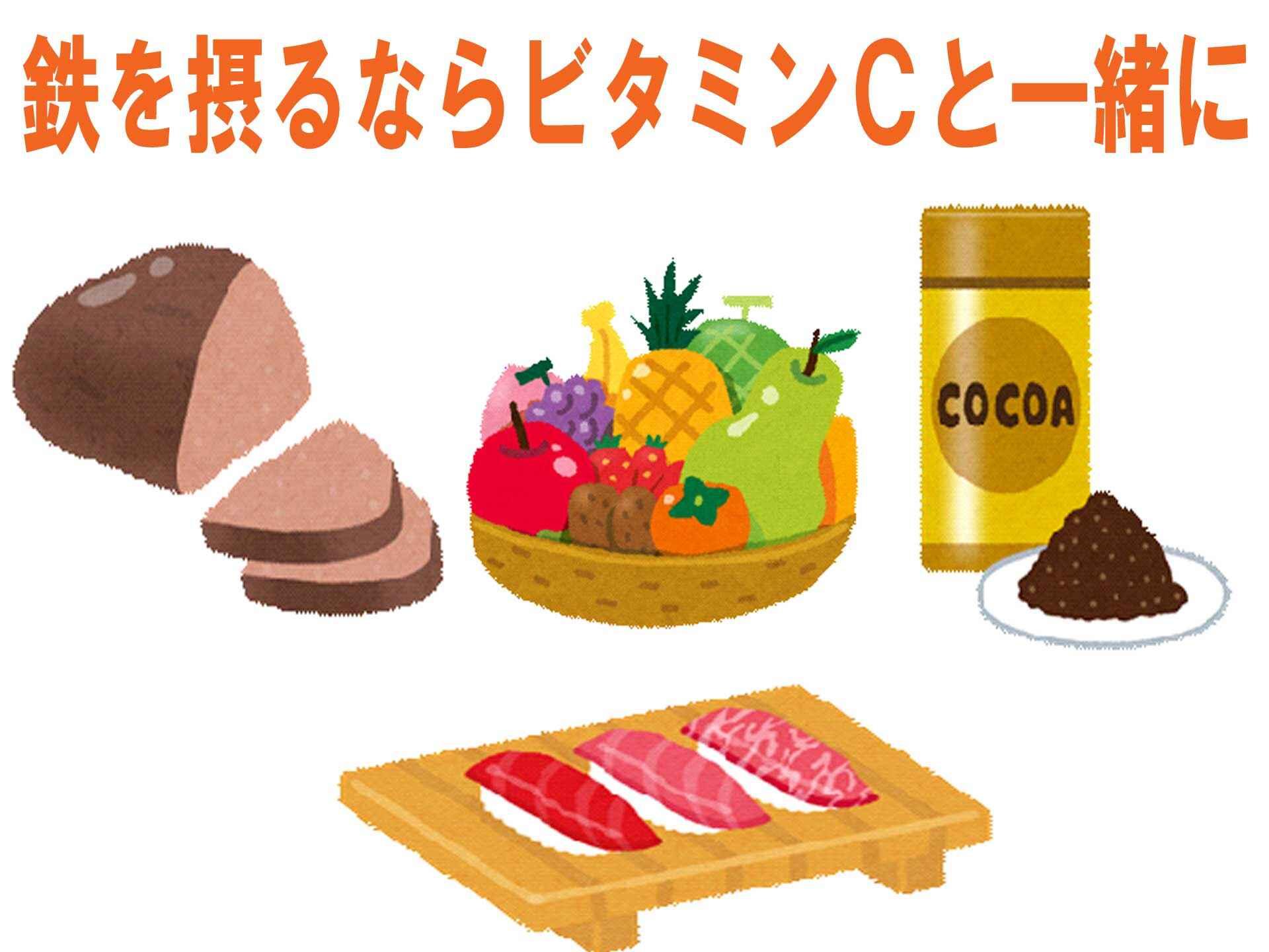 鉄分 の 多い 食事