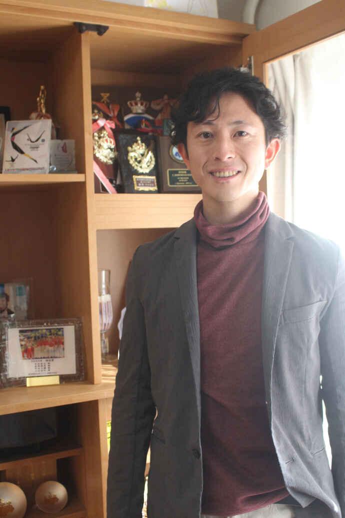元トランポリン日本代表の外村哲也さん