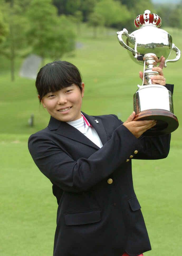 13歳9カ月の最年少記録で九州女子アマを制した勝みなみ