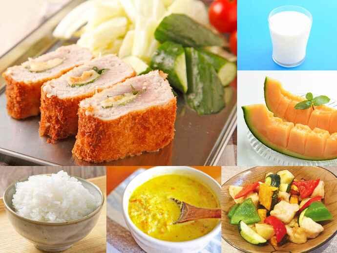 体調整えるにはビタミン、ミネラルも大事 食欲増進の工夫で夏バテ予防/バランスメニュー