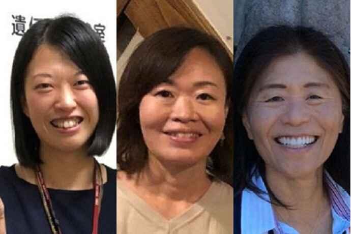 研究を発表した(左から)出口特任助教、横山准教授、本宮特任教授